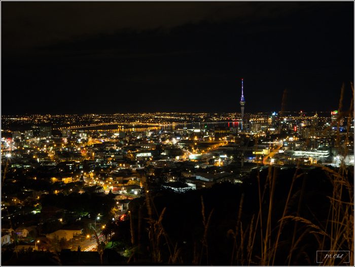 Auckland nuit night