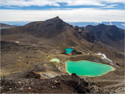 Nouvelle-Zélande Tongariro Alpine Crossing