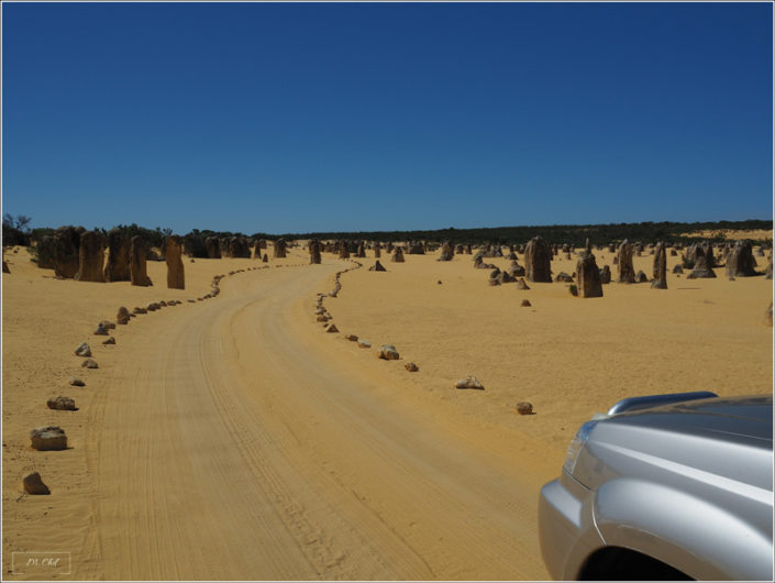 Pinnacles Desert Perth Australie