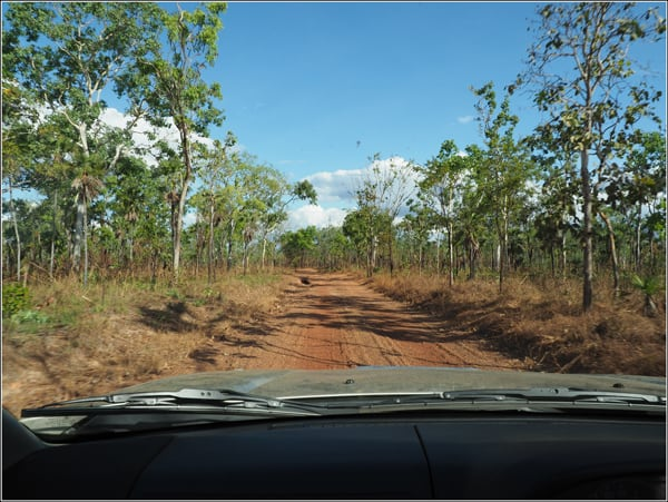Litchfield National Park Gravel Road